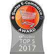 Top 5 - Swiss E-Commerce Award 2017